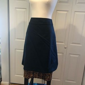 Banana Republic Black A-Line Skirt